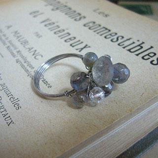 月明かりの指輪・セレネ*Luna Antique*