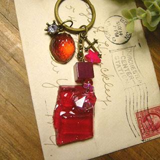 キーリング・Strawberry jelly *Luna Antique*