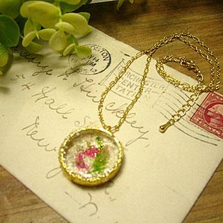 金魚飴のネックレス *Luna Antique*