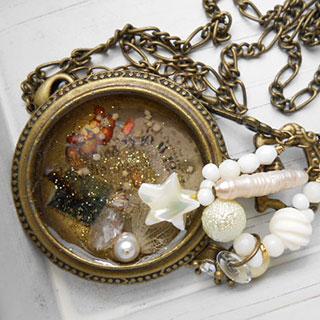 魔法の懐中時計ネックレス *Luna Antique*