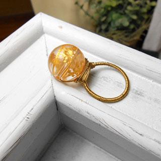 神獣刻印水晶の指輪 *Luna Antique*