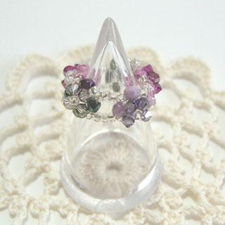 小花のリング*maruru