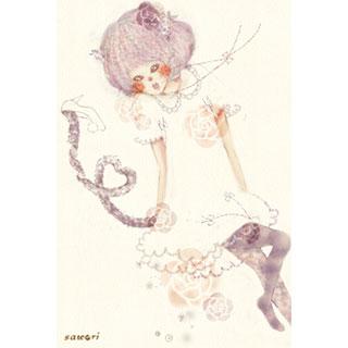 ポストカード【チェシャ猫】*merry life