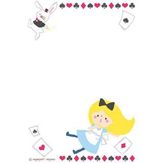 ポストカード【ふしぎのくにのアリス】*sugarpot*
