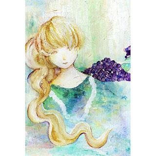 ポストカード【メランコリー】*mitico*