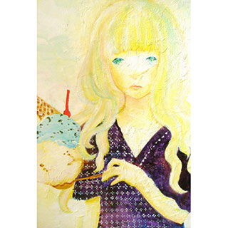 ポストカード【アイス】*mitico*