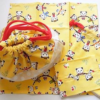 パンダちゃんのランチセット * nico_yuk* [30%OFF]