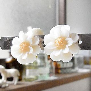 花かんざしのイヤリング * nico_yuk*