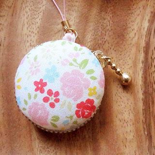 小花のマカロンケース * nico_yuk*