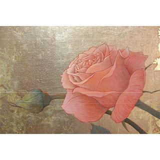 ポストカード【silver-rose】*西川 ケイコ