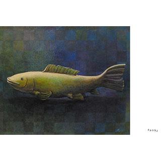 ポストカード【FISH】*西川 ケイコ