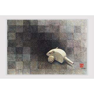 ポストカード【Digital Nezumi】*西川 ケイコ