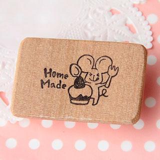 ネズミの Homemade はんこ * のっぺanko