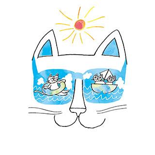 サマーカード【やっぱり、海がすき。】* おかべてつろう