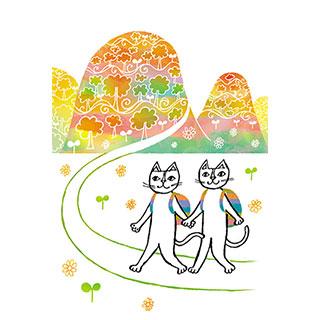 オータムカード【こころ彩る景色に会いにいきましょう】* おかべてつろう