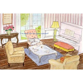 ポストカード【おうち演奏会】*Pearjuice