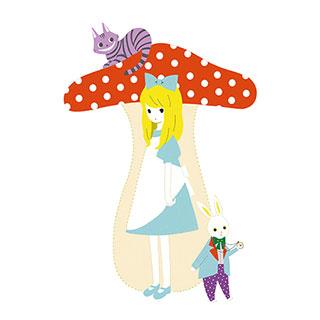 ポストカード【アリス】* raindrop