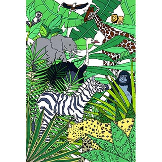 ポストカード【Jungle】* seri