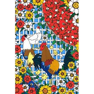 ポストカード【Chicken】* seri