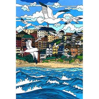 ポストカード【Seagulls】* seri