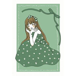 ポストカード【りぼん姫】*omotyabako