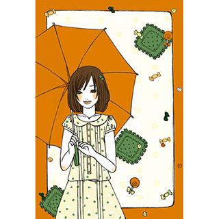ポストカード【晴れ飴】*omotyabako
