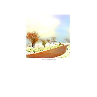 ポストカード【雪の丘。】*sora*_imagination