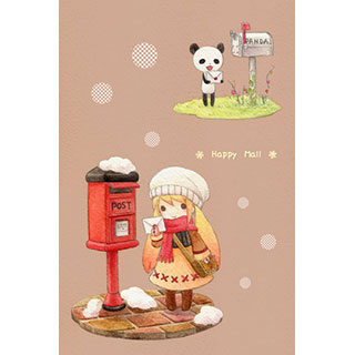 ポストカード【Happy Mail】*Tea Drop