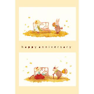 ポストカード【anniversary】* waka