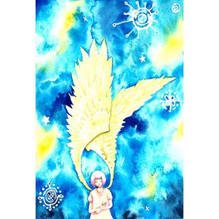 ポストカード【空想天使】* WATER+PALETTE