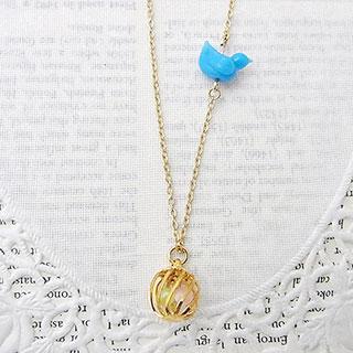小鳥と鳥かごのネックレス * Xingfu☆☆